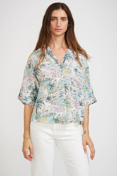 Cape Vista Blouse - Maplestore