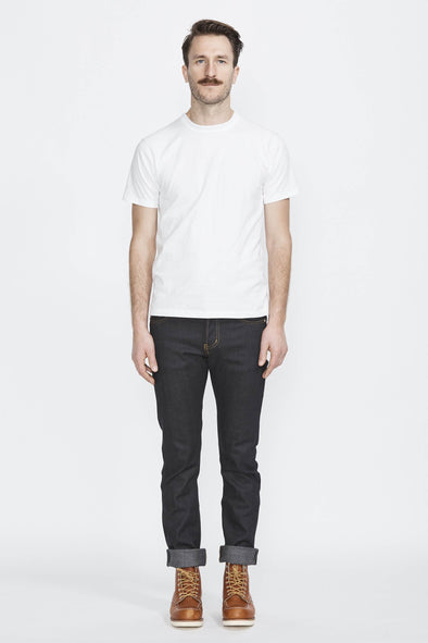 Naked and Famous Skinny Guy Deep Indigo 12oz Japanese Selvedge
