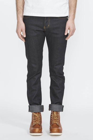 NAKED AND FAMOUS Skinny Guy . Deep Indigo 12Oz Japanese Selvedge - Maplestore