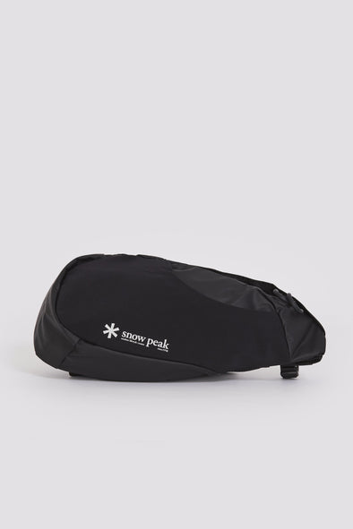 SNOW PEAK Side Attack Bagone . Black - Maplestore