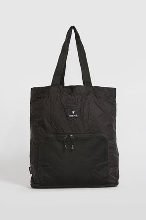 SNOW PEAK Pocketable Tote Bag Type 01 . Black - Maplestore