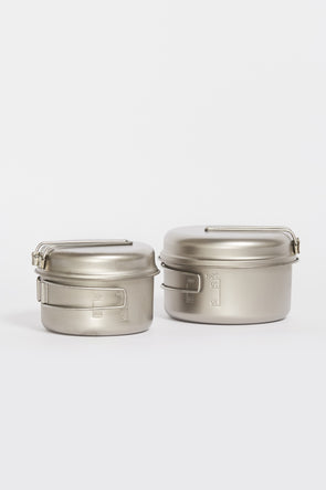 SNOW PEAK Titanium Personal Cook Set - Maplestore