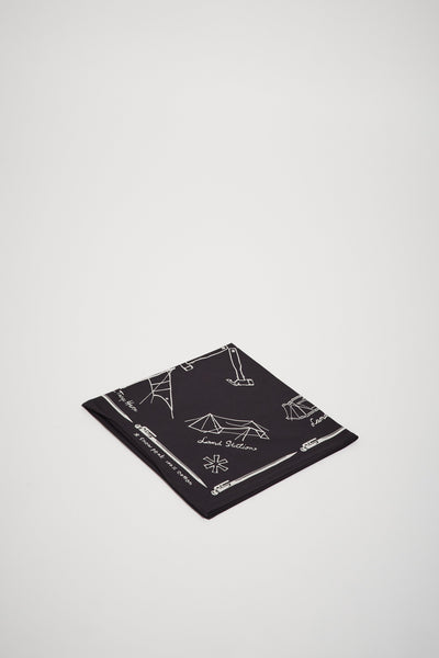 Cotton Noasabi Bandana Black - Maplestore