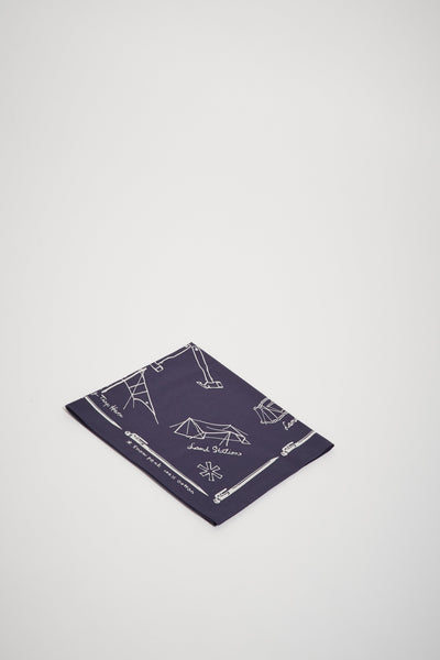 Cotton Noasabi Bandana Navy - Maplestore