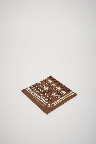 Cotton Nordic Bandana Beige - Maplestore
