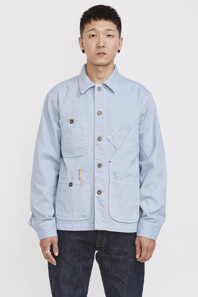 Coverall Jacket Light Blue - Maplestore