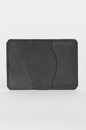 TANNER GOODS Union Quad Wallet . Black