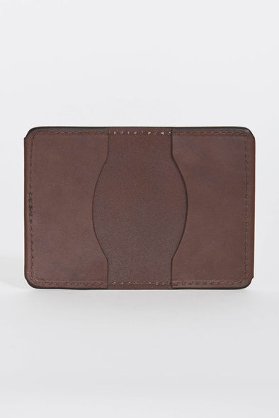 TANNER GOODS Union Quad Wallet . Cognac