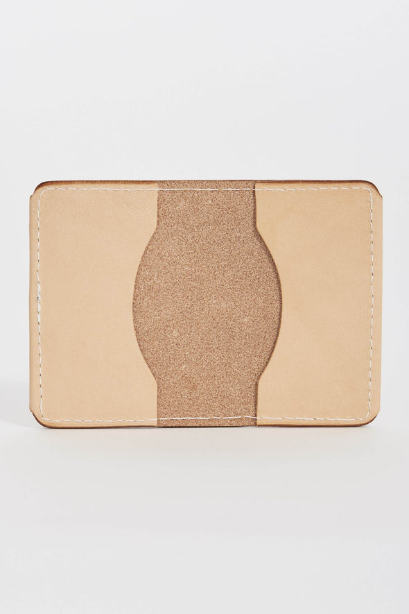 TANNER GOODS Union Quad Wallet . Natural - Maplestore