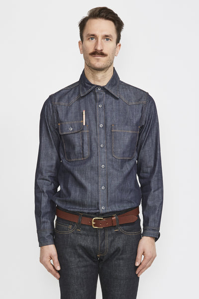 Topper Denim Shirt - Maplestore