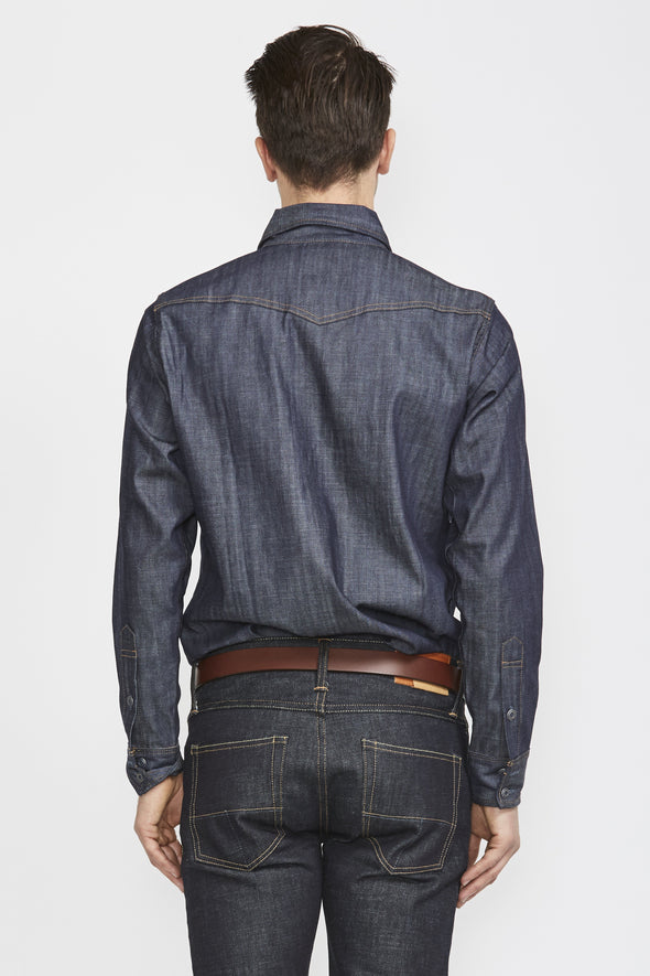 TELLASON Topper Denim Shirt - Maplestore