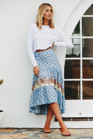 Shelby print Nili Skirt