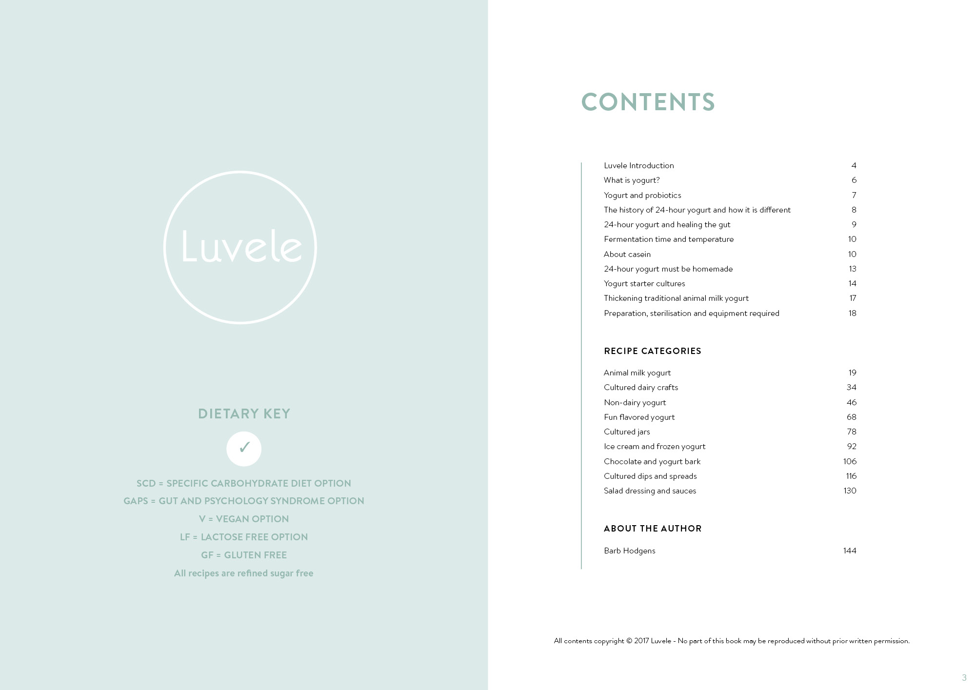 The Luvele 24 Hour Yogurt Recipe E-Book Bundle PDF/MOBI KF8/EPUB