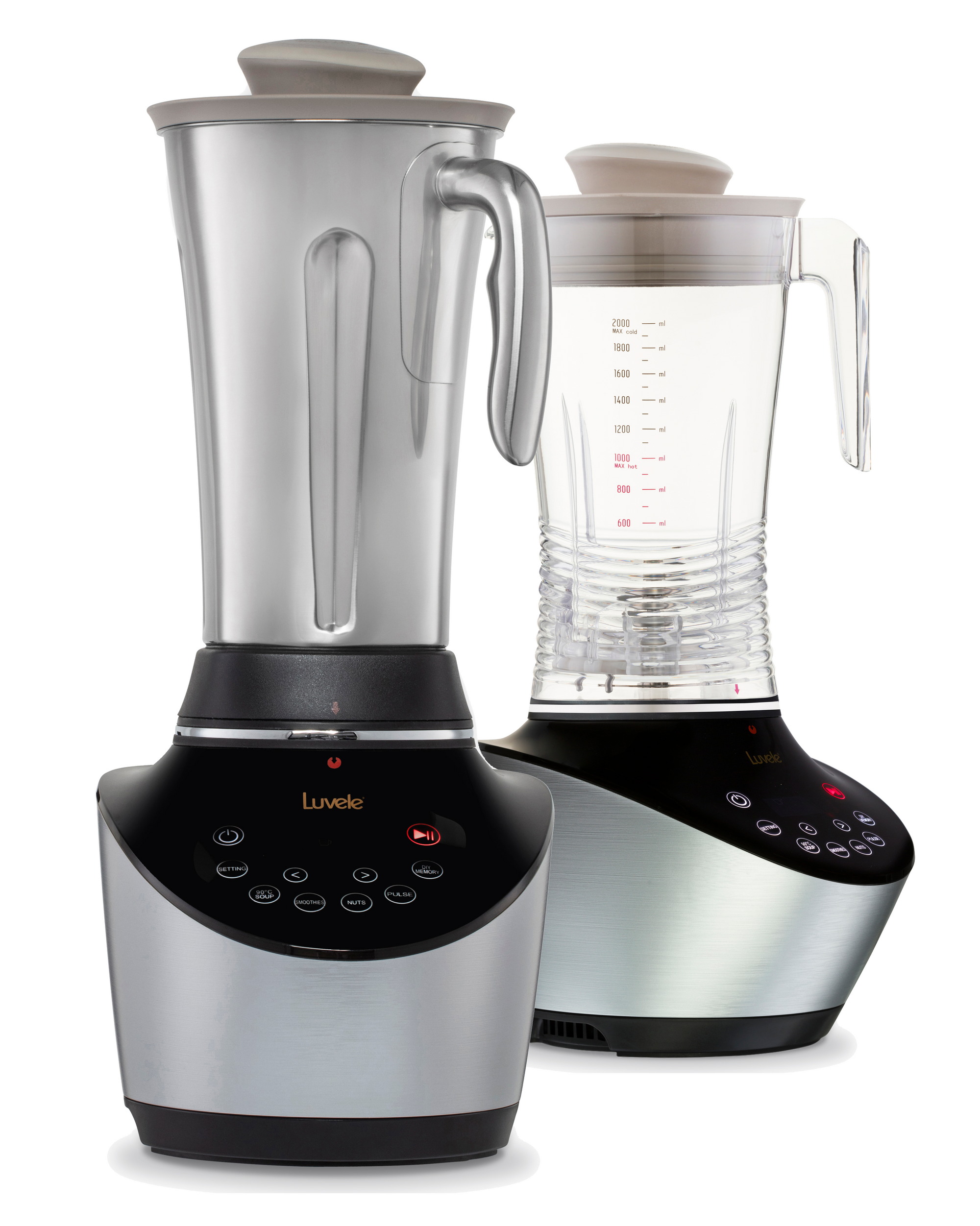 Luvele Vibe Blender System | Premium High Speed Blender
