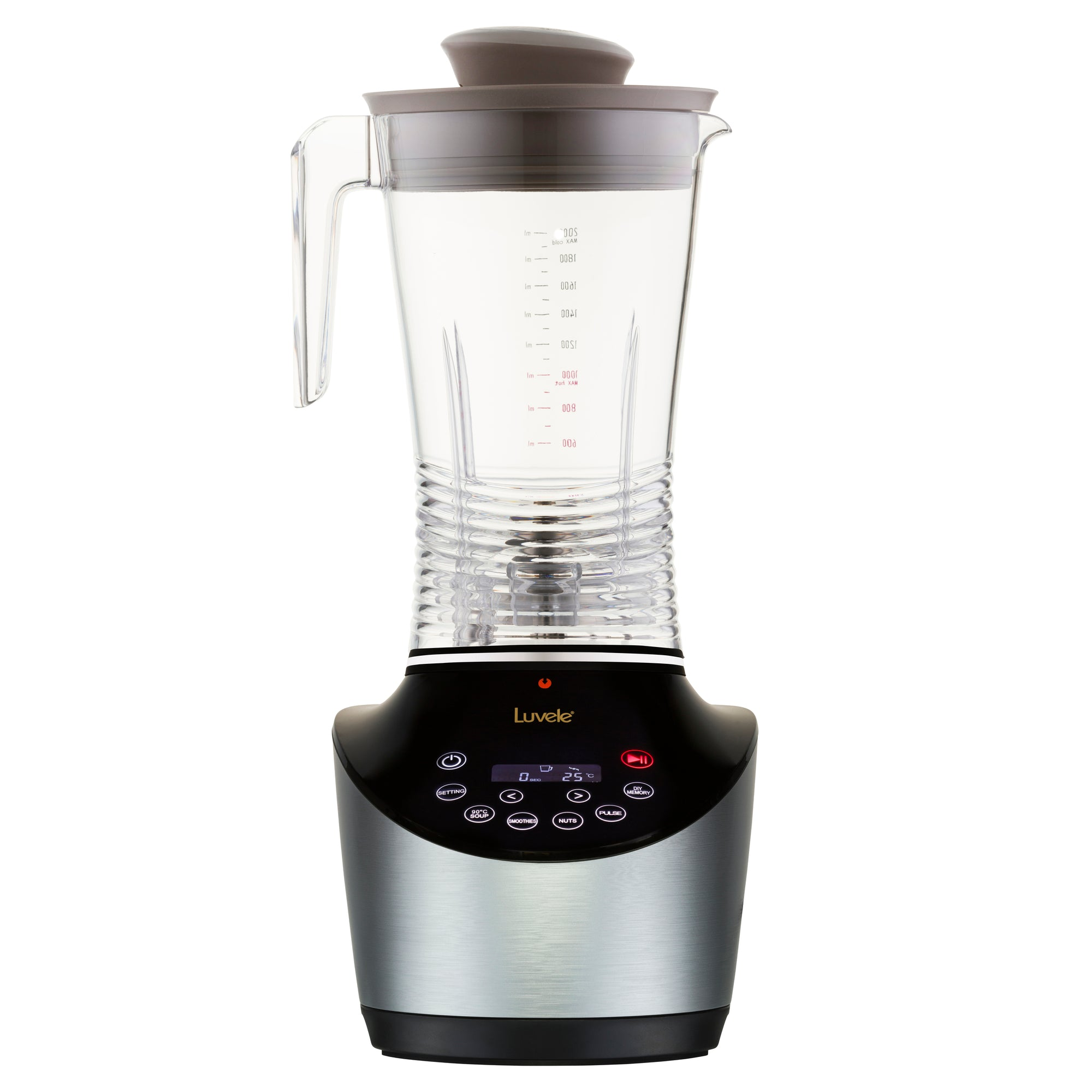 Luvele Vibe Blender System | High Speed Blender 2L BPA free PE plastic jug