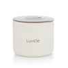 Luvele 4x 400ml ceramic yoghurt jars | Compatible with Pure Yogurt Maker
