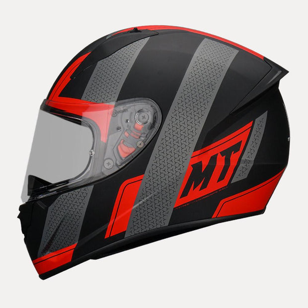 MT Stinger Affair Helmet red side view