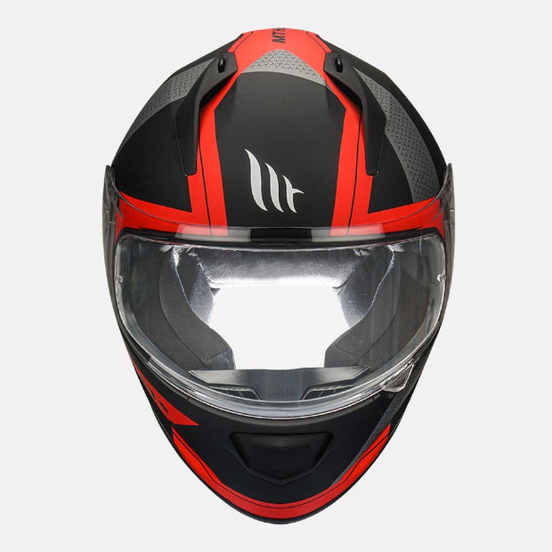 MT Stinger Affair Helmet red front view
