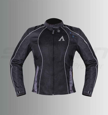 ASPIDA Venus Women's Mesh Jacket (Black)
