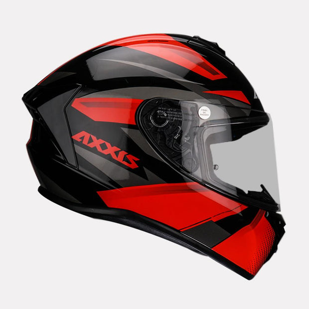 AXXIS Draken Ronin Helmet red side view