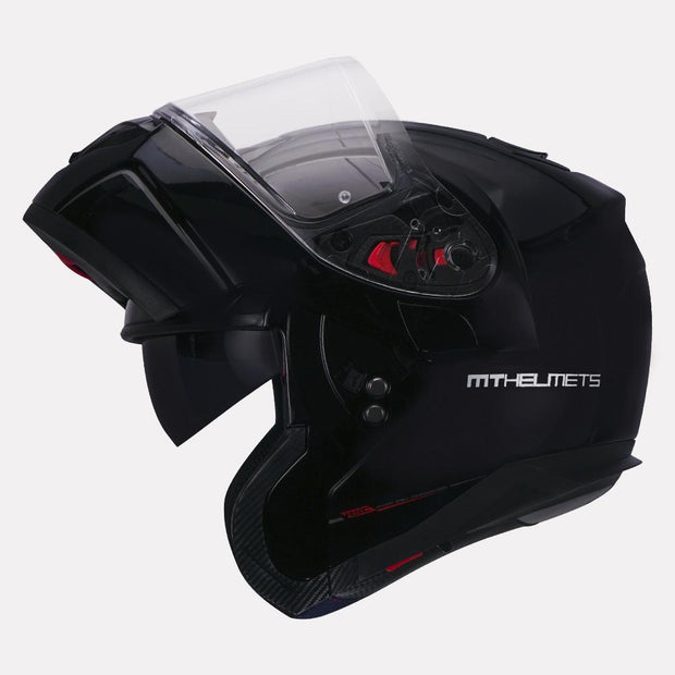 MT Atom SV Solid Modular Helmet left view