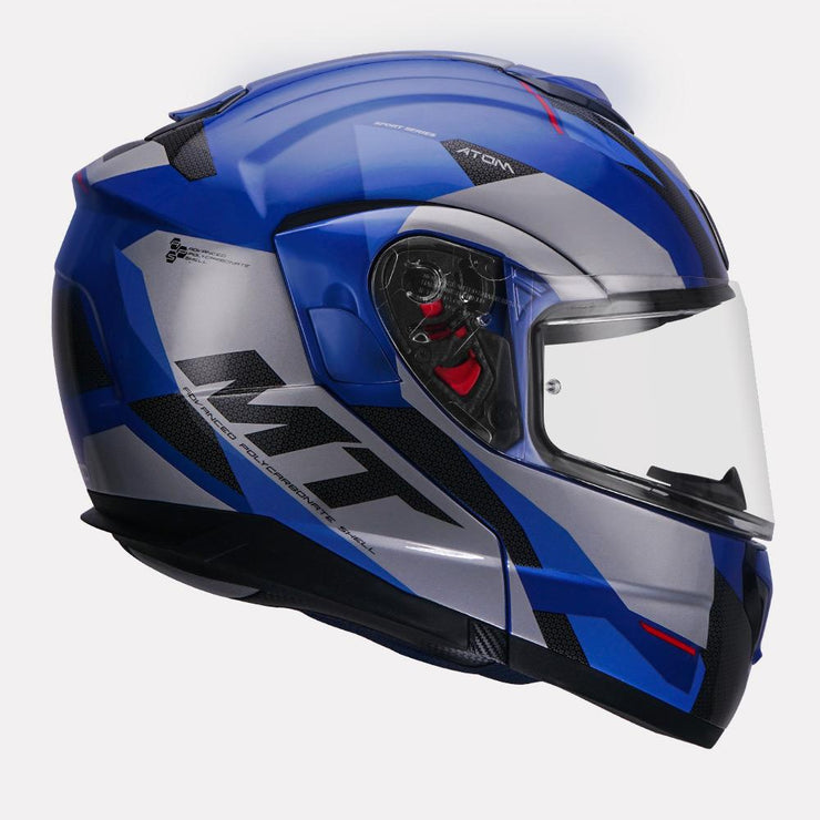 MT Atom SV Transcend Modular Helmet right view