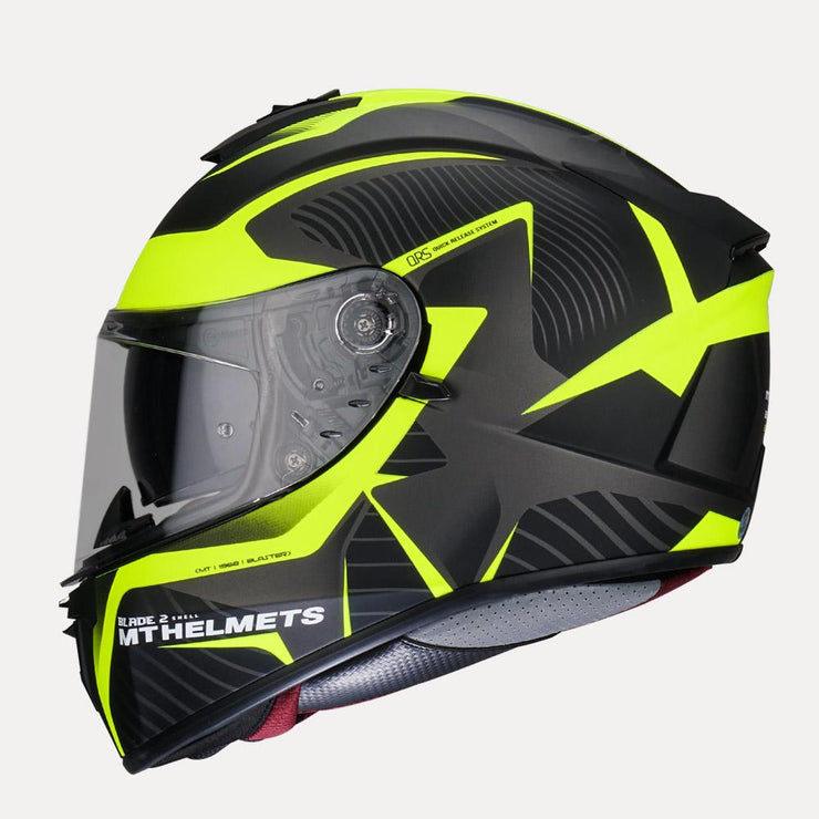MT Blade 2SV Blaster Matt Helmet side view