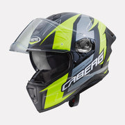 CABERG Drift Evo Speedster Helmet fluorescent yellow side view