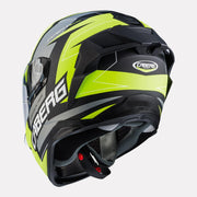 CABERG Drift Evo Speedster Helmet fluorescent yellow back view