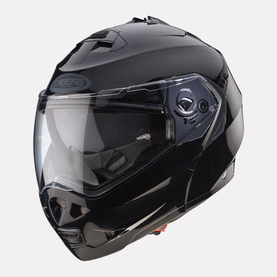 CABERG Duke II Black Helmet front view