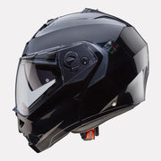 CABERG Duke II Black Helmet side view