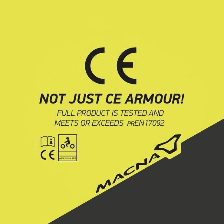 CE Certified Armour for Extreme Safety