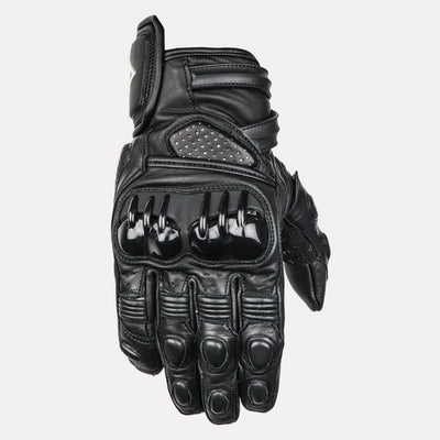ASPIDA Centaur Semi Gauntlet Leather Gloves front
