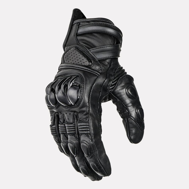 ASPIDA Centaur Semi Gauntlet Leather Gloves side