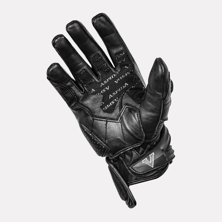 ASPIDA Centaur Semi Gauntlet Leather Gloves palm