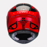 AXXIS Draken B Dekers Gloss Red Helmet