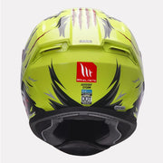 MT Helmet Hummer Lycan Gloss Fluorescent Yellow