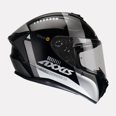 AXXIS Draken MP4 Gloss Black-Grey Helmet