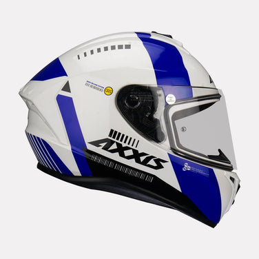 AXXIS Draken MP4 Gloss Helmet (Blue)