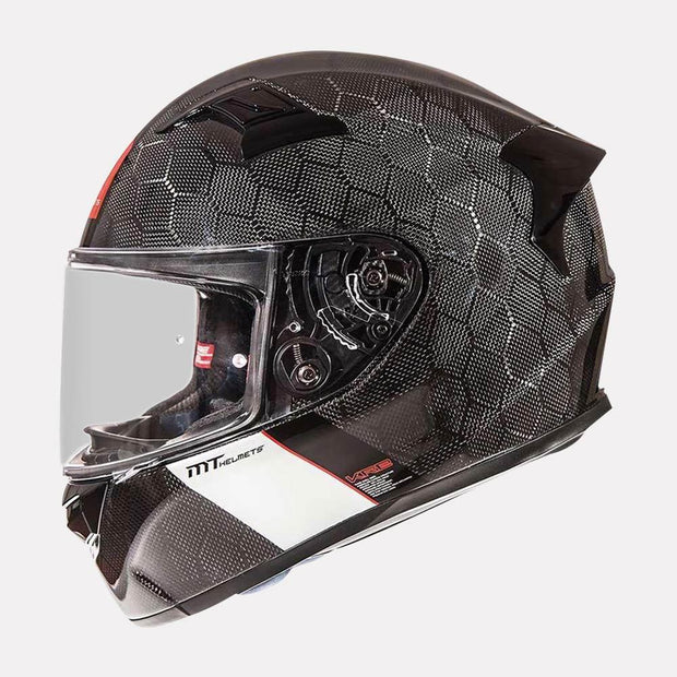 MT Snake carbon motorcycle helmet side