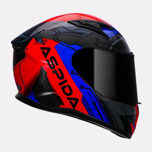 Aspida Tourance Machine Helmet Right Side  View