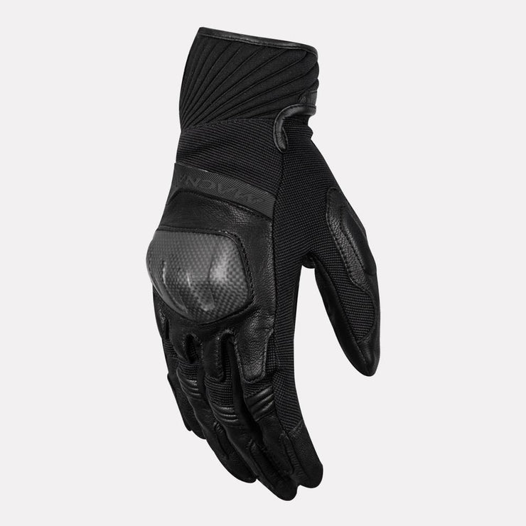 MACNA ATMOS Semi Gauntlet Leather Gloves (Black)
