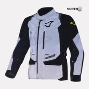 Macna Equator Riding Jacket night eye front view