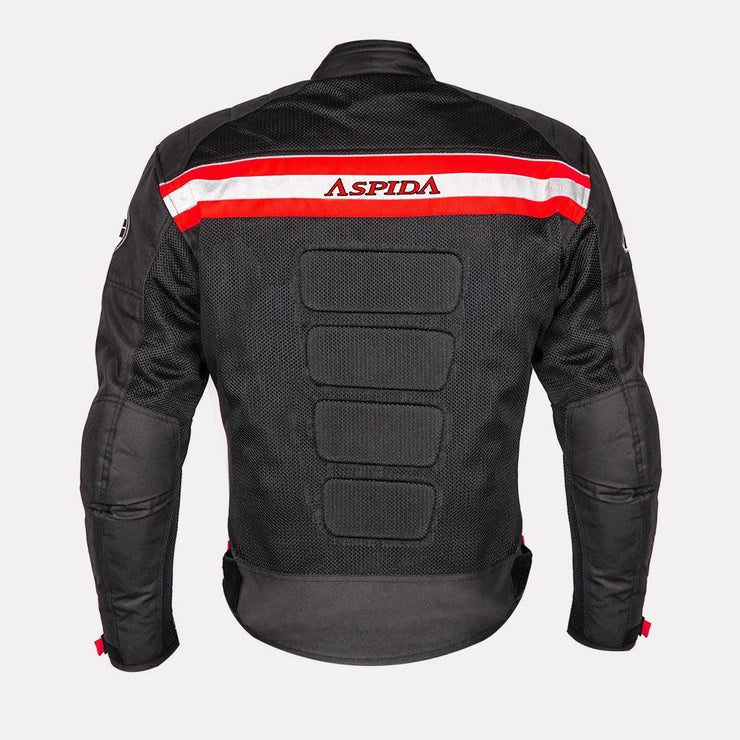 ASPIDA Prime Series Nemesis 2 L 2 Mesh Jacket red back