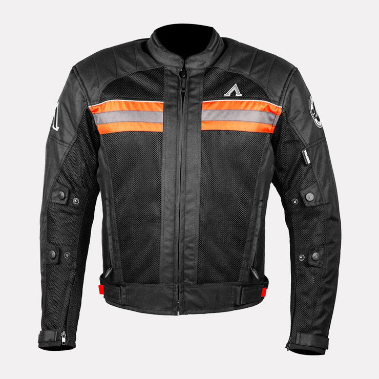ASPIDA Prime Series Nemesis 2 L 2 Mesh Jacket orange front