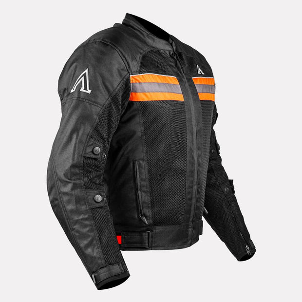 ASPIDA Prime Series Nemesis 2 L 2 Mesh Jacket orange side