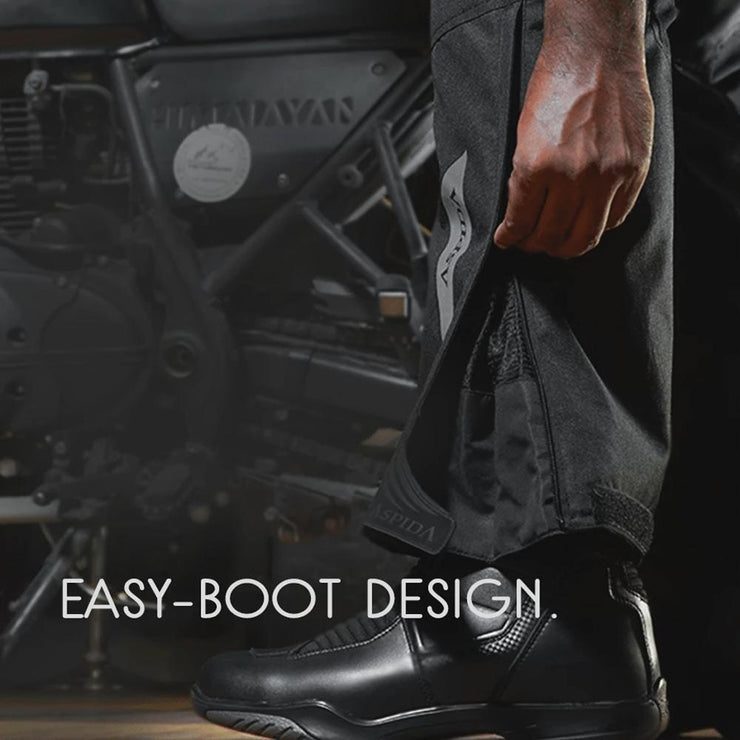 ASPIDA Odysseus All Season Touring Pants boot design
