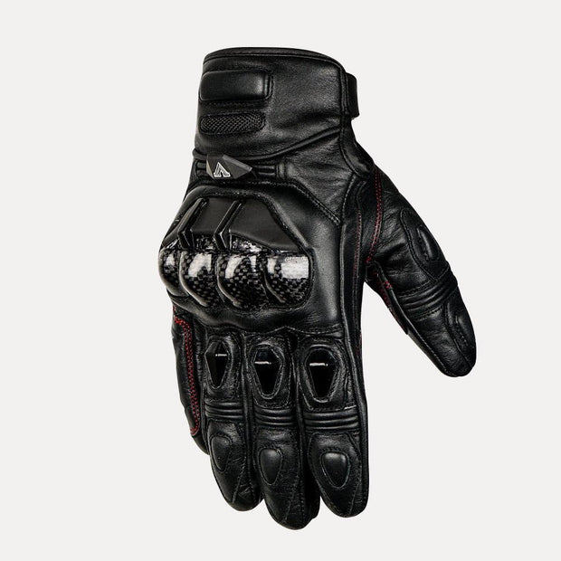 ASPIDA Pegasus Short Cuff Leather Gloves