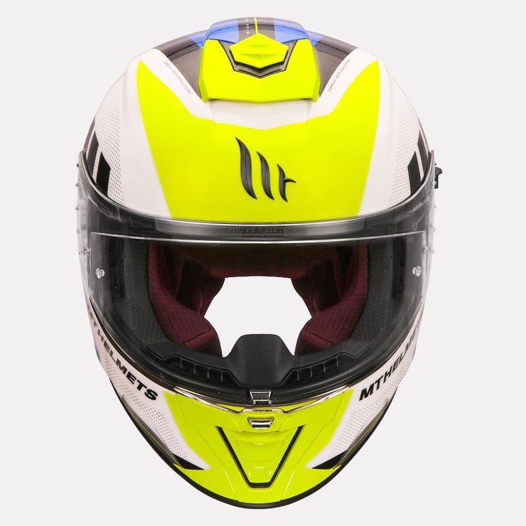 MT Blade 2SV Plus Helmet straight view