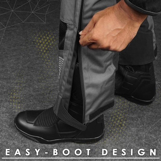 ASPIDA Proteus II Airmesh Sports Pants boot design